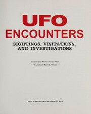 Cover of: Ufo Encounters | Jerome Clark