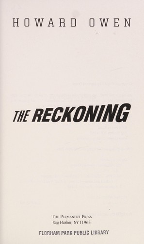 The reckoning by Howard Owen