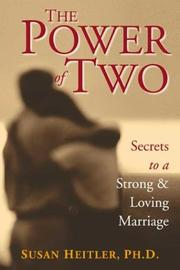 Cover of: The Power of Two by Susan, Ph.D. Heitler