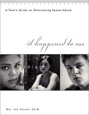 Cover of: It Happened to Me | William Lee Carter
