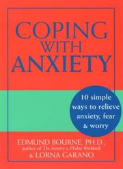 Cover of: Coping with anxiety | Edmund J. Bourne