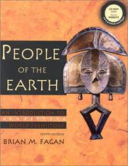 Cover of: People of the earth | Brian M. Fagan, Brian M. Fagan