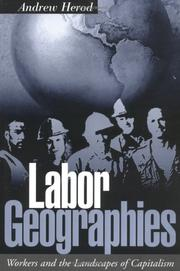 Cover of: Labor geographies | Andrew Herod