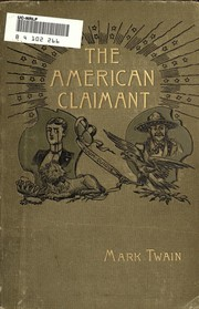 Cover of: American Claimant | Mark Twain