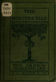 Cover of: The winter's tale | William Shakespeare