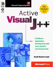 Cover of: Active Visual J++ | Scott Robert Ladd