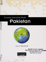 Cover of: Pakistan | Jean F. Blashfield