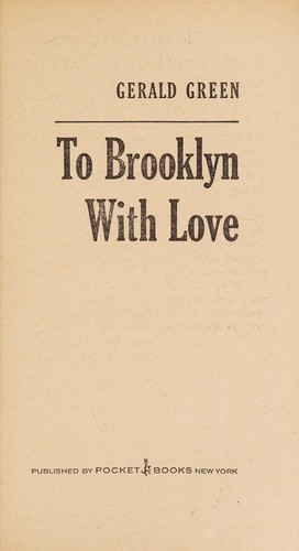 To Brooklyn W Love by Gerald green