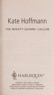 Cover of: The Mighty Quinns: Callum | Kate Hoffmann