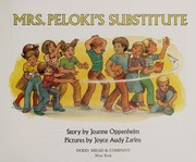 Cover of: Mrs. Peloki's substitute | Joanne Oppenheim