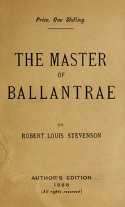 Cover of: The  master of Ballantrae | Robert Louis Stevenson