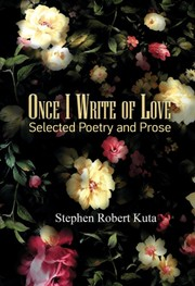 Once I Write of Love