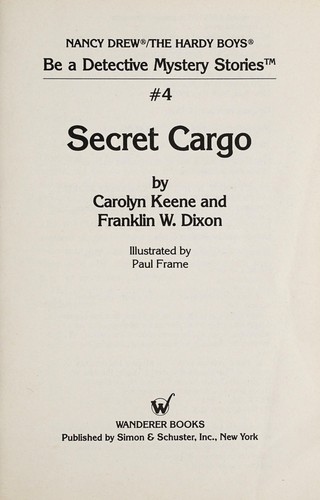 Secret cargo by Carolyn Keene