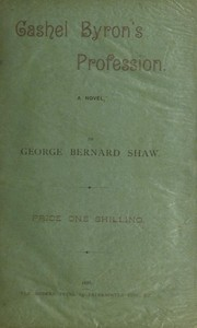 Cover of: Cashel Byron's profession | George Bernard Shaw