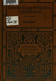 Cover of: The Personal History of David Copperfield | Charles Dickens