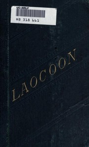 Cover of: Laokoon | Gotthold Ephraim Lessing