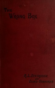 Cover of: The  wrong box | Robert Louis Stevenson