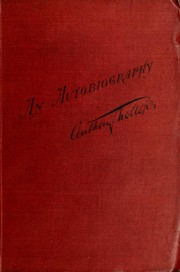 Cover of: An autobiography | Anthony Trollope
