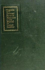 Cover of: Gulliver's travels | Jonathan Swift