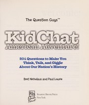 Cover of: Kidchat American adventure | Bret Nicholaus