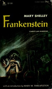 Cover of: Frankenstein | Mary Shelley