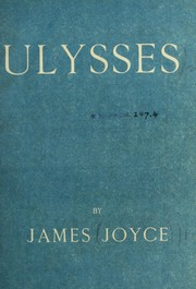 Cover of: Ulysses | James Joyce