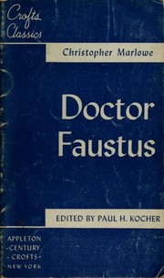 Cover of: Doctor Faustus | Christopher Marlowe