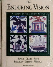 Cover of: The Enduring Vision | Paul S. Boyer