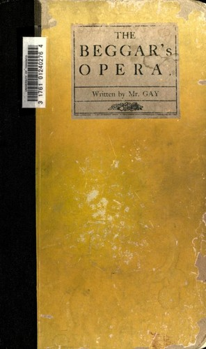 Beggar's opera by John Gay