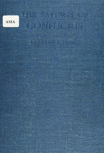 Lun yu by Confucius