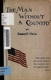 Cover of: The man without a country | Edward Everett Hale
