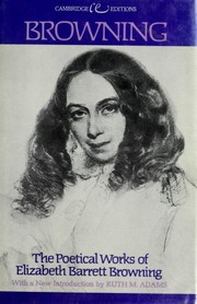 Cover of: Poems | Elizabeth Barrett Browning