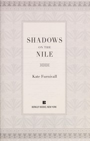 shadows on the nile furnivall kate