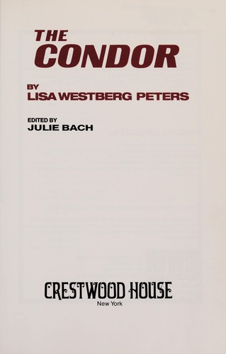The condor by Lisa Westberg Peters