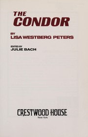 Cover of: The condor | Lisa Westberg Peters