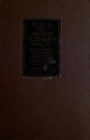 Cover of: Plays | Anton Pavlovich Chekhov
