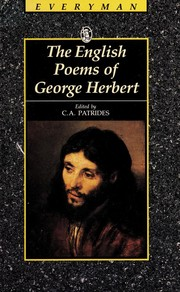 Cover of: Poems | George Herbert