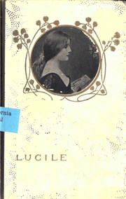 Cover of: Lucile | Robert Bulwer Lytton