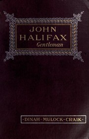 Cover of: John Halifax, gentleman | Dinah Maria Mulock Craik