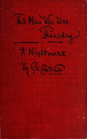 Cover of: The Man Who Was Thursday | G. K. Chesterton