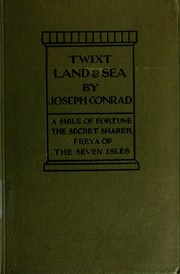 Cover of: 'Twixt land and sea | Joseph Conrad