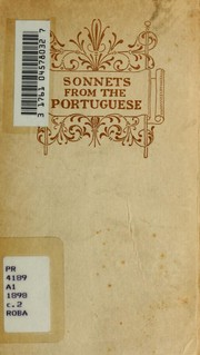 Cover of: Sonnets from the Portuguese | Elizabeth Barrett Browning