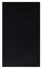Cover of: England, my England | D. H. Lawrence
