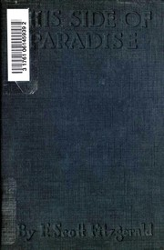 Cover of: This Side of Paradise | F. Scott Fitzgerald