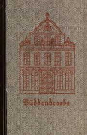 Cover of: Buddenbrooks | Thomas Mann