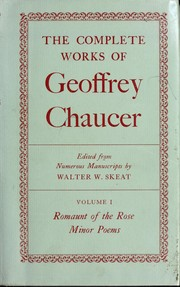 Cover of: Poems | Geoffrey Chaucer