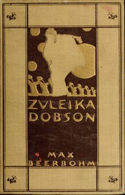 Cover of: Zuleika Dobson | Sir Max Beerbohm