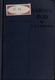 Cover of: Aaron's Rod | D. H. Lawrence