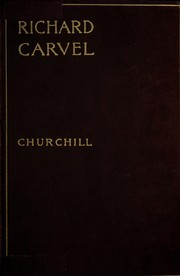 Cover of: Richard Carvel | Winston Churchill