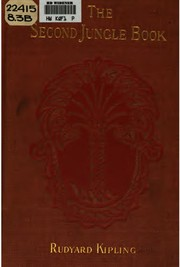 Cover of: The  second jungle book | Rudyard Kipling